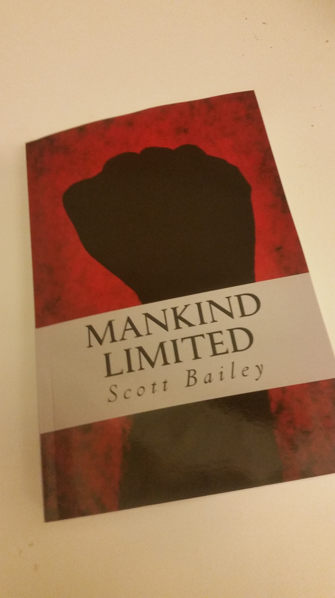 Mankind Limited Now Available inpaperback